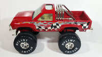 "Nylint Red 4x4 Off-Road Monster Truck Pressed Steel Toy Car Vehicle 12"" Long"