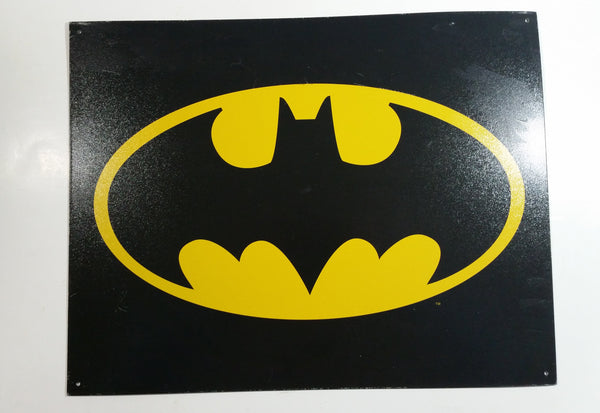 "Batman 12 1/2"" x 16"" Tin Metal Sign DC Comics Superhero Collectible"
