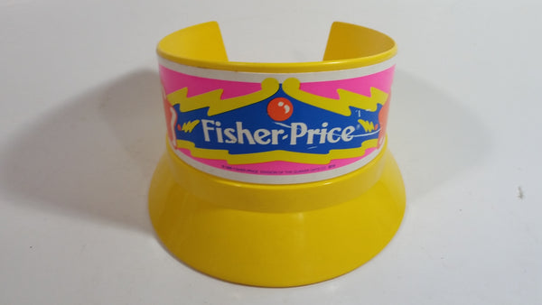 1988 Fisher Price Marching Band Plastic Yellow Toy Hat