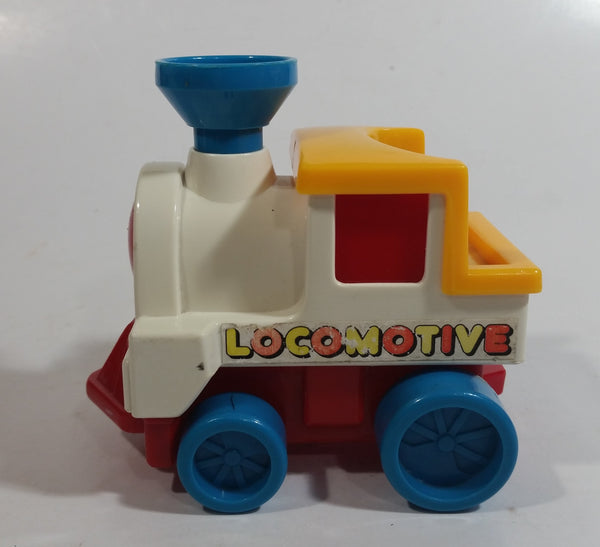 Vintage Li'l Playmates No. 7800 Disney Plastic Railroad Trolley Locomotive Train Toy - Hong Kong