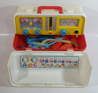Vintage Fisher Price Chicco Doctor Medical Kit Toy Set with Multiple Accessories and Tools Made in Italy
