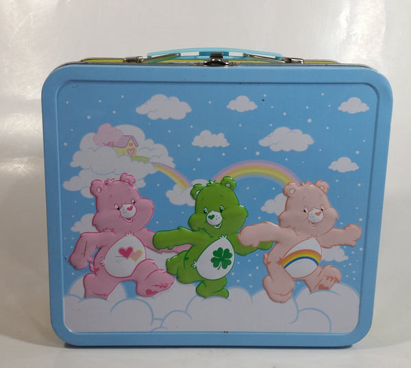 Care Bears Cartoon Characters Embossed Tin Metal Lunch Box