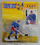 1997 Edition Kenner Starting Lineup NHL Ice Hockey Player Wayne Gretzky New York Rangers Action Figure and Upper Deck Trading Card New in Package Standard Card