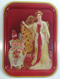 Vintage Coca Cola 1903 Lillian Norton Nordica Tin Litho Beverage Serving Tray - 69-365 USA