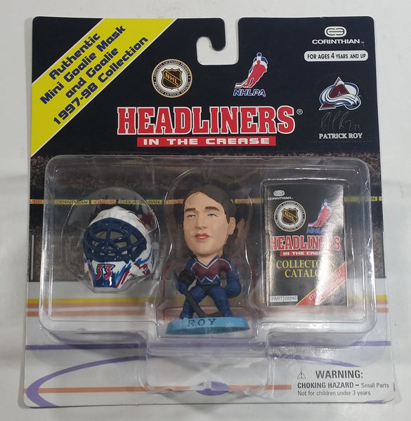 1997-98 Corinthian Headliners NHL NHLPA Ice Hockey Player Goalie Patrick Roy  Colorado Avalanche Figure New in Package