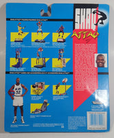 1993 Kenner Hasbro Over-The-Top Collection Shaq Attaq Overhead Smash NBA Basketball Player Shaquille O'Neal Orlando Magic Action Figure New in Package