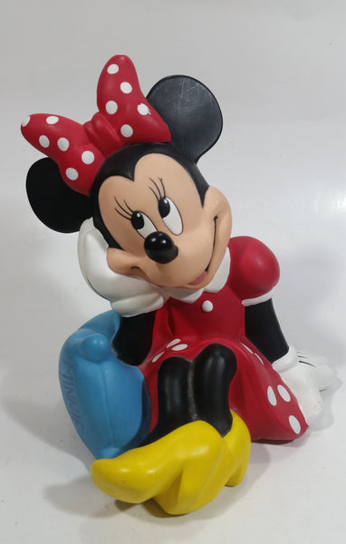 Walt Disney Bullyland Minnie Mouse Cartoon Character Shaped Coin Bank