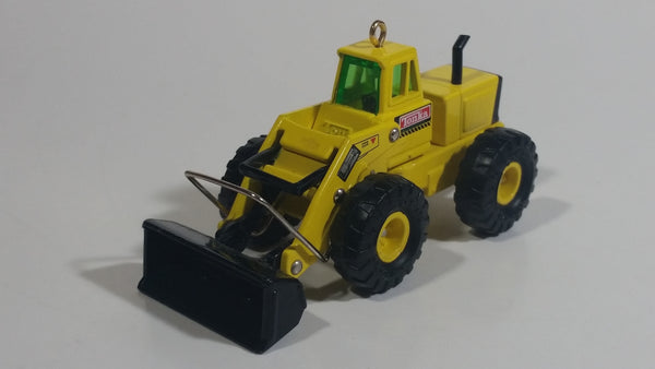 1997 Hallmark Hasbro Tonka Front End Loader Yellow Die Cast Construction Equipment Vehicle Hanging Christmas Tree Ornament