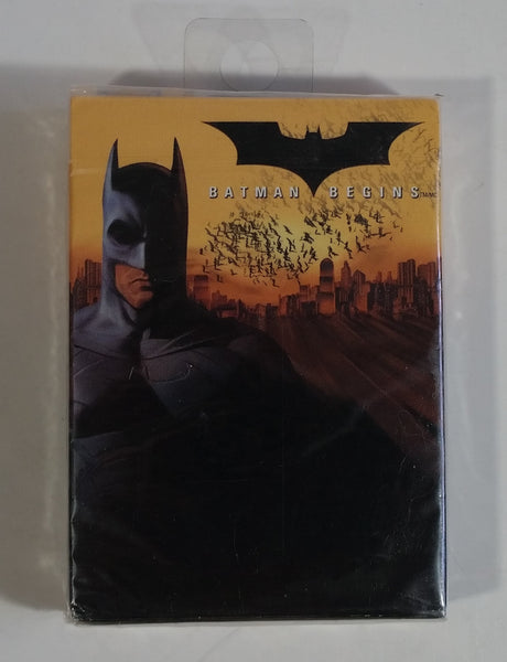 2005 Warner Bros. DC Comics Batman Begins Bicycle Brand Superhero Character Themed Playing Cards Still Sealed, New in Package