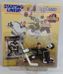1998 Extended Series Kenner Hasbro Starting Lineup NHL Ice Hockey Player Goalie Nikolai Khabibulin Phoenix Coyotes Action Figure and Pacific Trading Card New in Package