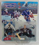 2000 - 2001 Hasbro Starting Lineup NHL Ice Hockey Player Goalie Guy Hebert Anaheim Mighty Ducks Selected 1997 NHL All-Star Game Action Figure and Pacific Trading Card New in Package