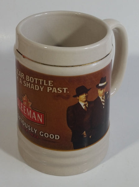 Sleeman Notoriously Good Since 1834 The Clear Bottle With A Shady Past Beer Mug Al Capone Mob Gangster Breweriana Collectible