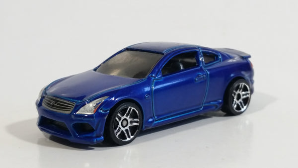 2017 Hot Wheels Infiniti G37 Candy Blue Die Cast Toy Car Vehicle
