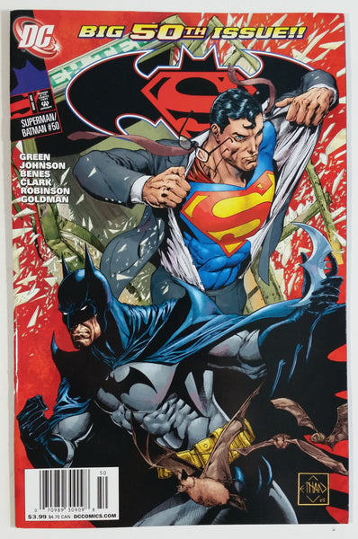 2008 DC Comics Big 50th Issue Superman / Batman #50 Comic Book