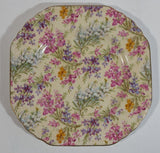 "Vintage 1948 BCM Lord Nelson Ware ""Heather"" 2750 Octagon Shaped Plate Made in England"