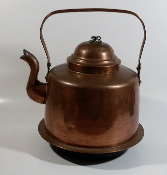 Skultuna 1607 Copper 3L Tea Pot Kettle Made in Sweden