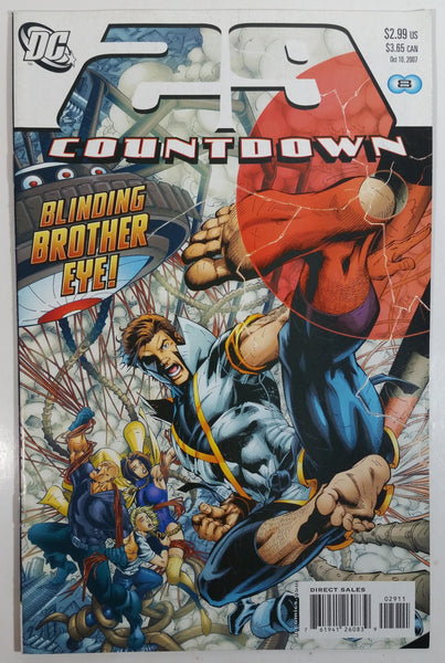2007 October DC Comics 29 Countdown Blinding Brother Eyes! Comic Book