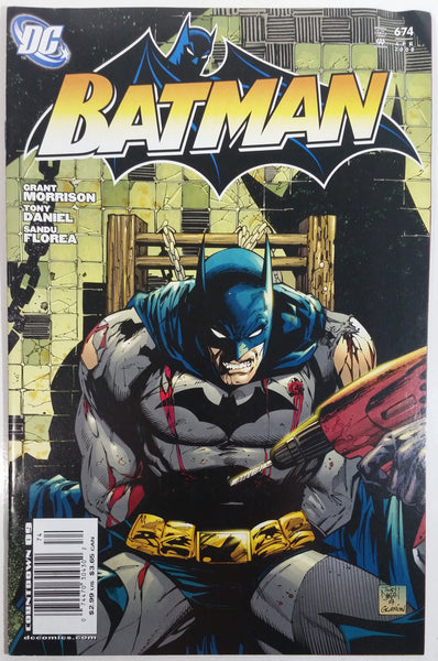 2008 April DC Comics Batman #674 Comic Book