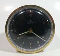 Vintage 1950s Junghans Trivox Silentic Wind Up Travel Alarm Clock - Made in Germany