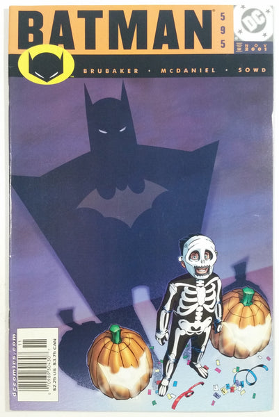 2001 November DC Comics Batman #595 Comic Book