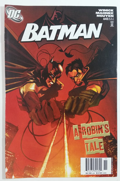 2005 November DC Comics Batman A Robin's Tale #645 Comic Book