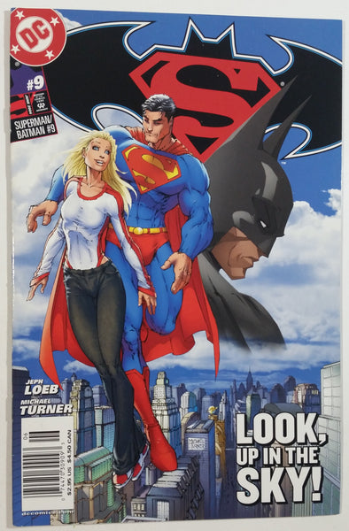 2004 June DC Comics Superman / Batman #9 Look, Up In The Sky! Comic Book