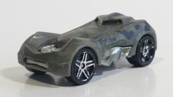 2009 Hot Wheels Color Shifters RD-03 Dark Olive Green Die Cast Toy Car Vehicle