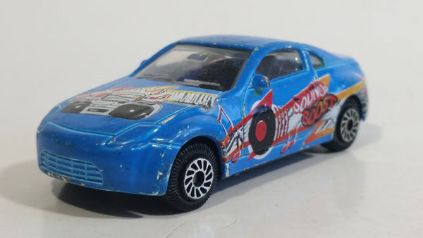 "HTI Nissan 350Z ""Sound Boost"" Blue DKC-1 Die Cast Toy Car Vehicle"