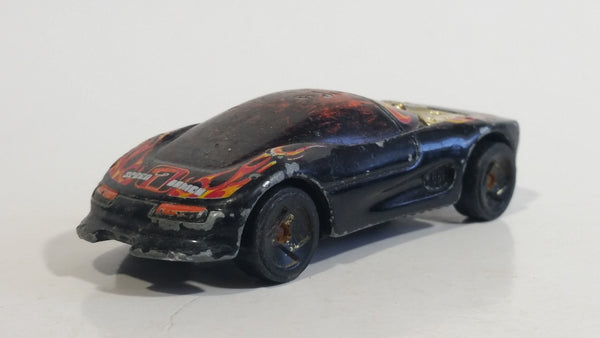 2003 Hot Wheels Track Aces Buick Wildcat Black Die Cast Toy Car Vehicle