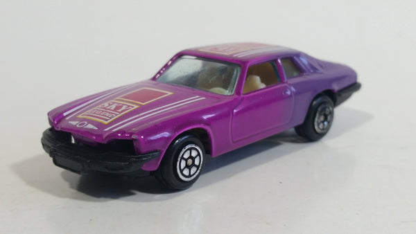 Yatming No. 1041 Jaguar XJS Purple Pink Sky Legend Die Cast Toy Car Vehicle