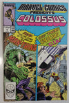 1989 Early February Marvel Comics Presents Colossus #12 Comic Book
