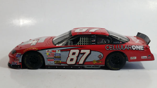 2005 Racing Champions Collector Series Nascar #87 Joe Nemechek CellularOne Nortel Chevrolet Monte Carlo Red 1/24 Scale Die Cast Model Toy Race Car Vehicle