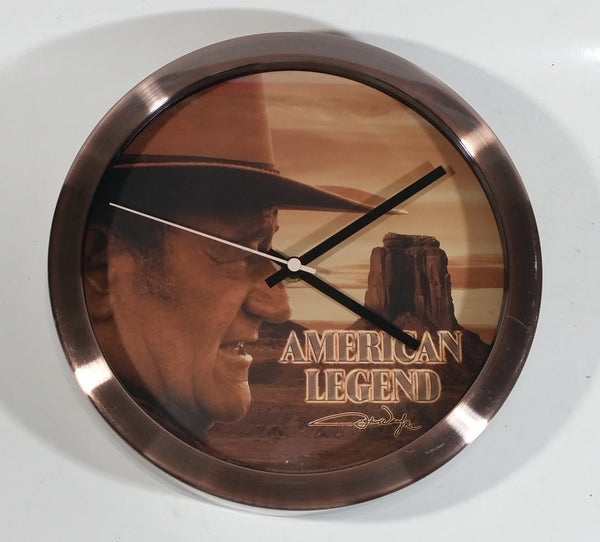 "John Wayne American Legend 10"" Wall Clock"
