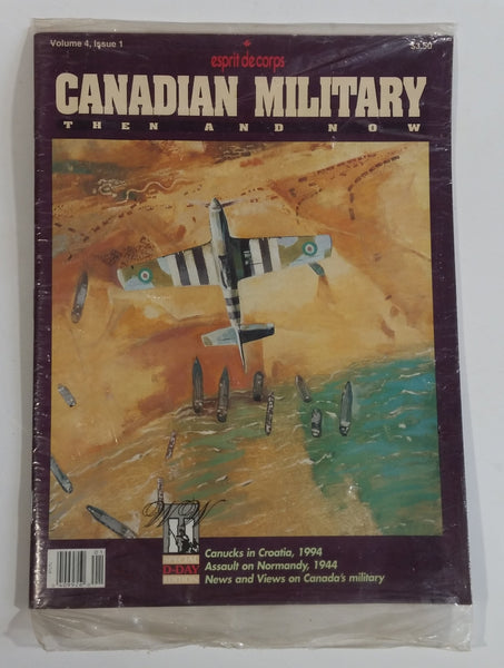 June 1994 Esprit de corps Canadian Military Then and Now Volume 4 Issue 1 Magazine