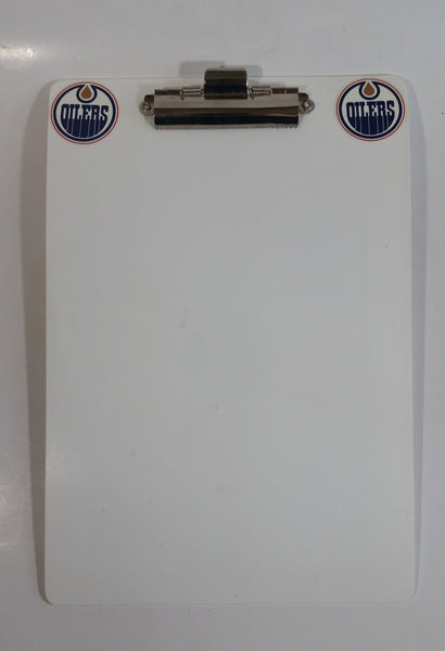 NHL Ice Hockey Team Edmonton Oilers Rink Themed Double Sided Clipboard