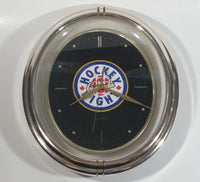 CBC HNIC Hockey Night In Canada Oval Shaped Quartz Clock