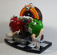 2004 M & M's Juke Box Shaped Candy Dispenser Machine