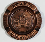 "Vintage Century Walt Disney Productions Disneyland California Copper Metal 3 1/4"" Ash Tray"