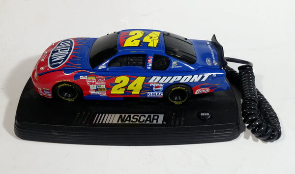 NASCAR #24 Jeff Gordon DuPont Chevrolet Monte Carlo Race Car Shaped Telephone