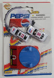 "1990s Golden Wheel Special Edition Pepsi & Diet Pepsi Team Racer #38 Peter Comlia & #77 Die Cast Toy Race Car Vehicles with Red ""Turn Base"" Soda Pop Collectible New in Package"