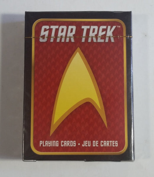 2013 CBS Studios Star Trek Television Show Deck of Playing Cards New Sealed in Package