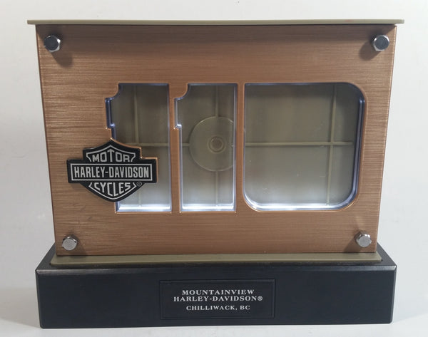 2013 Mountainview Harley Davidson Motor Cycles 110th Anniversary Battery Operated Light Up Sign Picture Frame