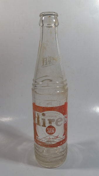 Vintage 1950s Hires Root Beer 10 FL. Oz. Bottle - No City - Rare