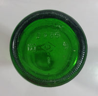 "Vintage Canada Dry Hi-Sport Lemon Soda 9 1/4"" Tall Green Glass Soda Pop Beverage Bottle"