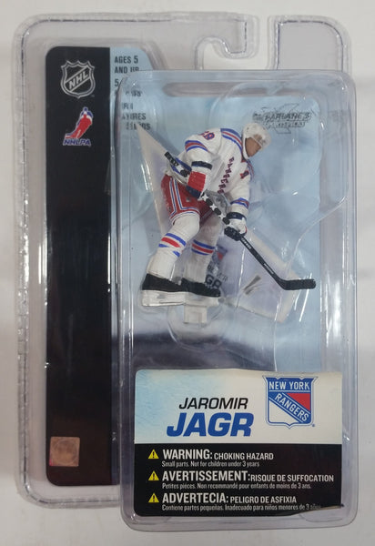 2005 McFarlane Sportspicks NHL Ice Hockey New York Rangers Player Jaromir Jagr Action Figure New in Package