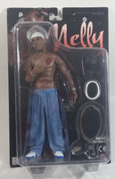 2003 The Stronghold Group Rapper Hip Hop Artist Nelly Series 1 Toy Action Figure with Accessories New in Package