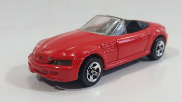 2000 Hot Wheels BMW M Roadster Red Die Cast Toy Car Vehicle