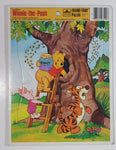 1983 Western Publishing Company Golden 4510D-34 Walt Disney's Winnie The Pooh Frame Tray Puzzle