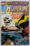 1990 Marvel Comics Presents Wolverine and Ghost Rider #65 Baptism of Fire! Comic Book