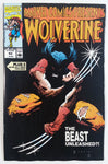 1990 Marvel Comics Presents Wolverine #63 The Beast Unleashed?! Comic Book